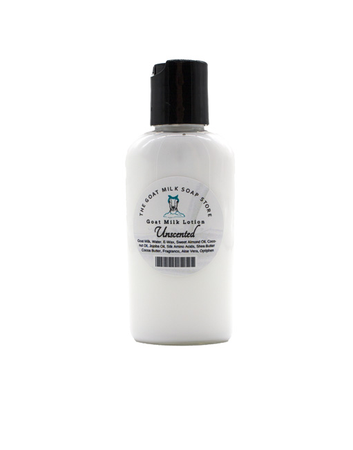 Unscented Travel Goat Milk Lotion