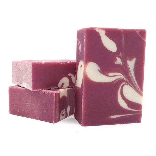 Blackberry Divine Travel Goat Milk Soap