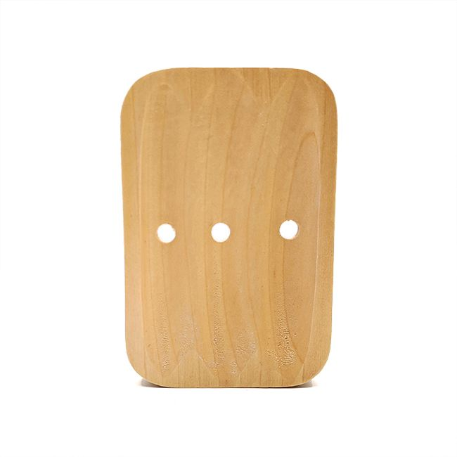 Curved Wooden Soap Dish