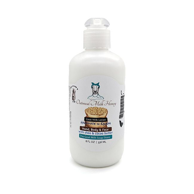 Oatmeal Milk and Honey Goat Milk Lotion 8 Ounce