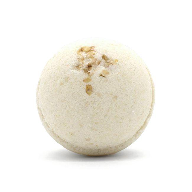 Oatmeal Milk and Honey Bath Bomb