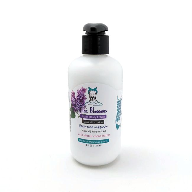 Lilac Blossoms Goat Milk 8 Ounce