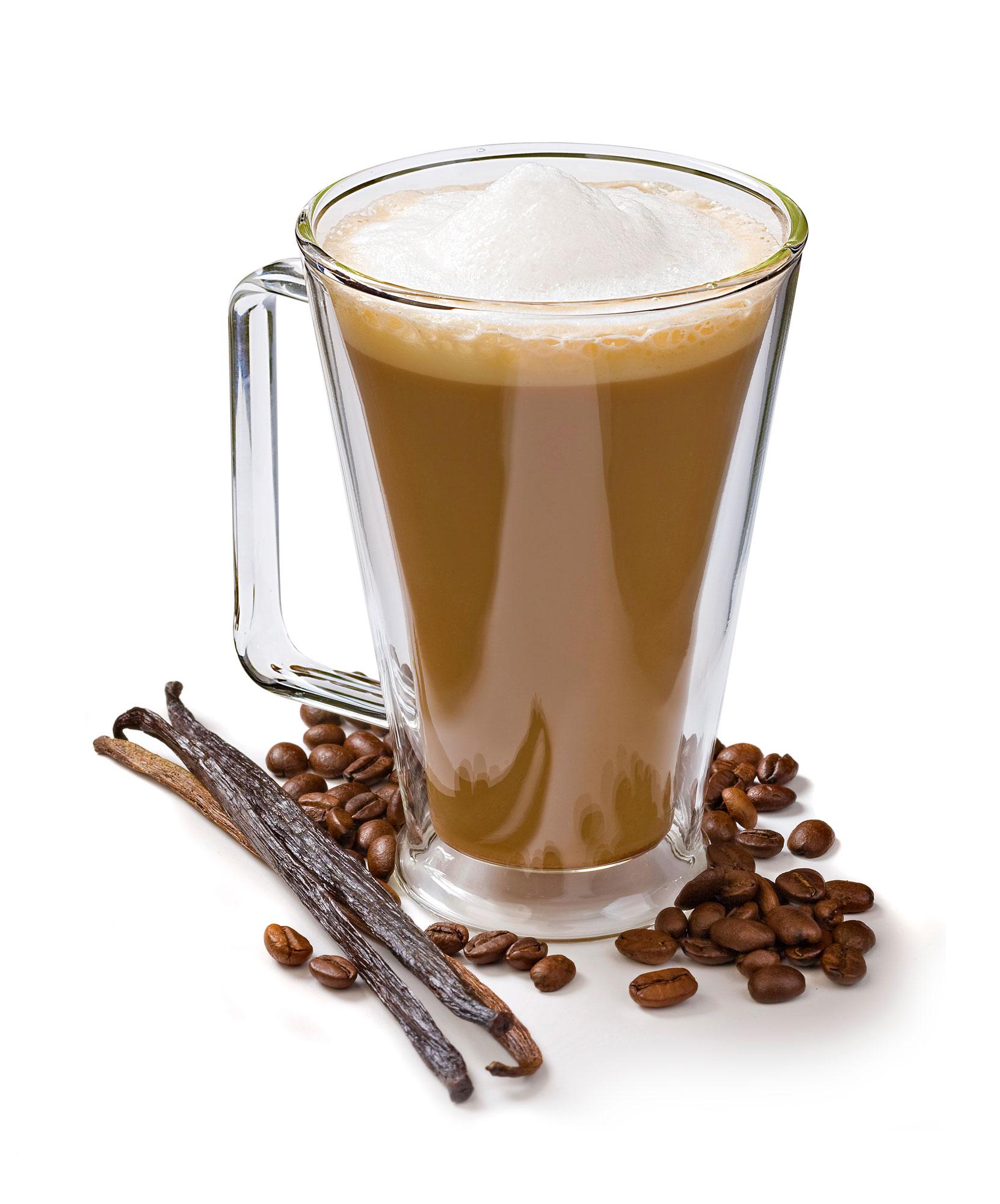 Custom blending of cappuccino and hot chocolate mixes.