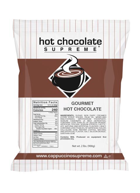 2 lb bag of Hot Chocolate Supreme Hot Chocolate Mix
