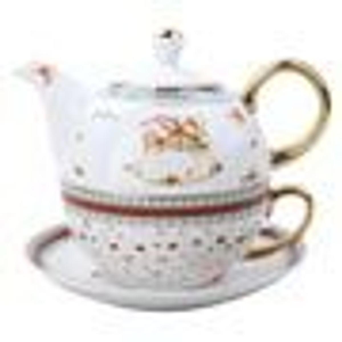 Christmas Teaware - Tea for Ones