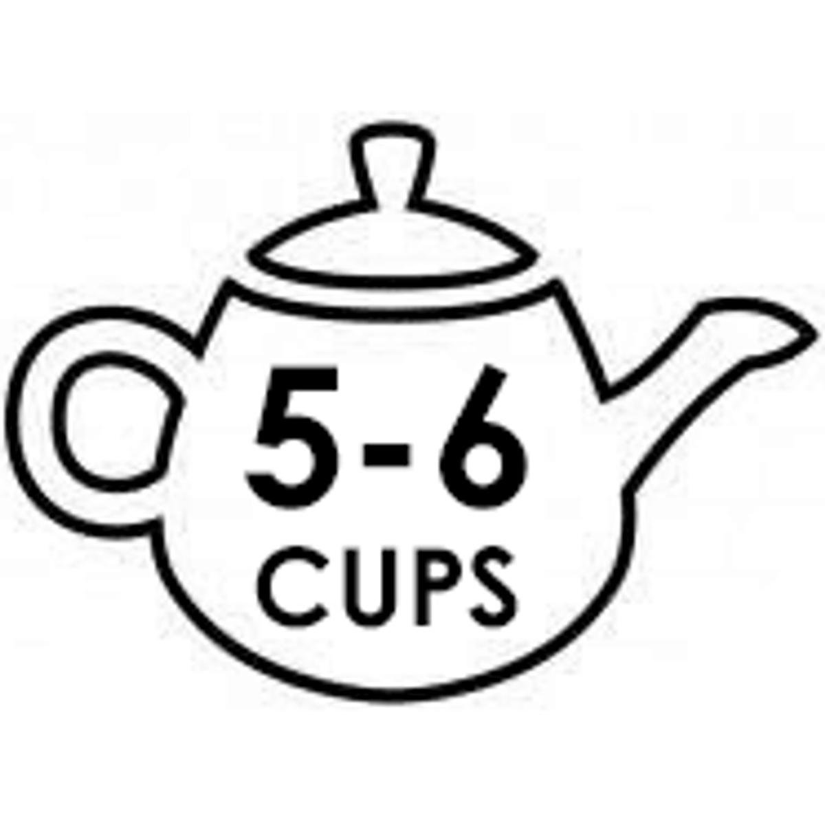 Medium 5-6 Cup Teapots