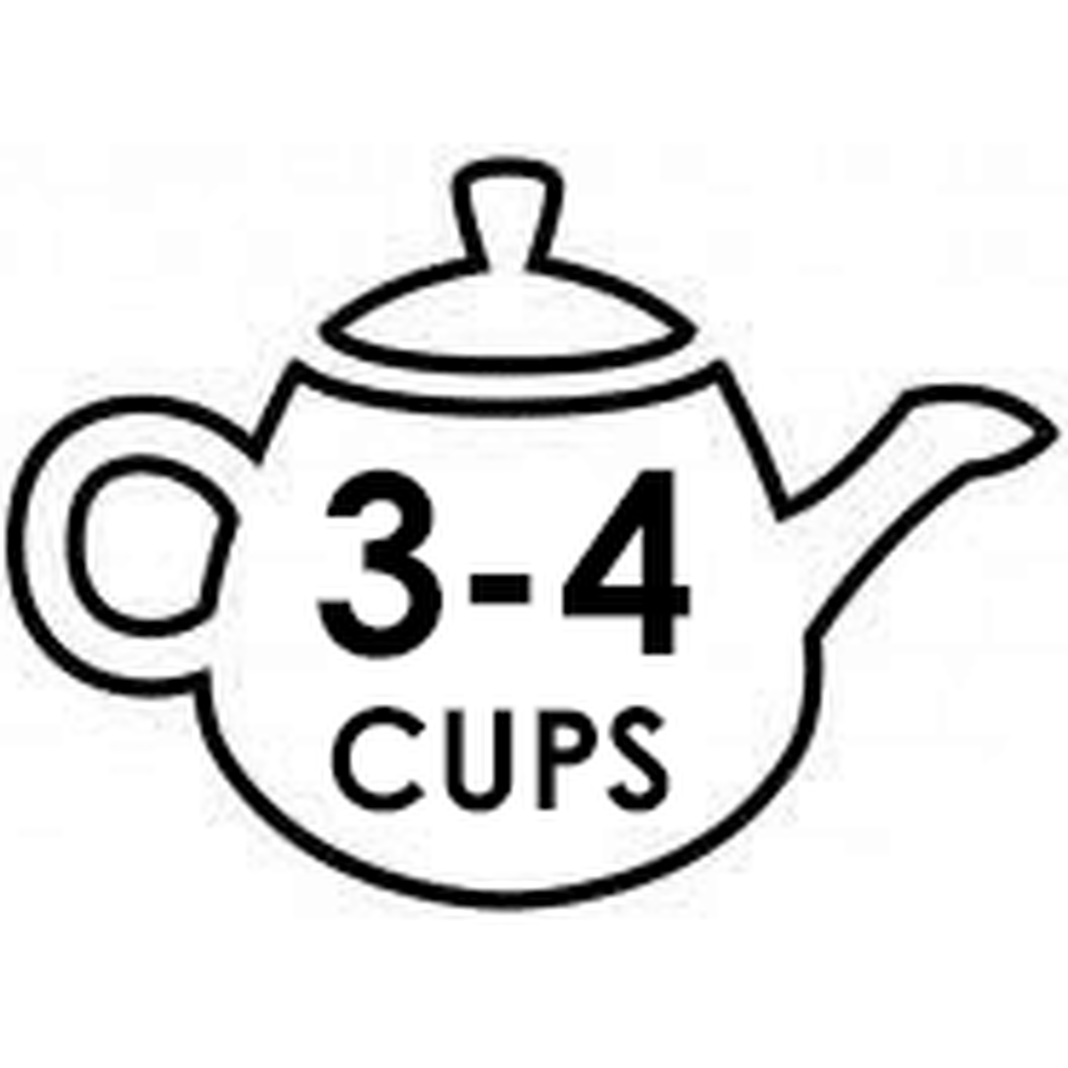 Small 3-4 Cup Teapots