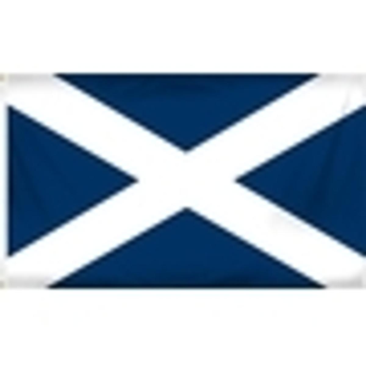 Scotland Flag - St. Andrew's Cross Flag