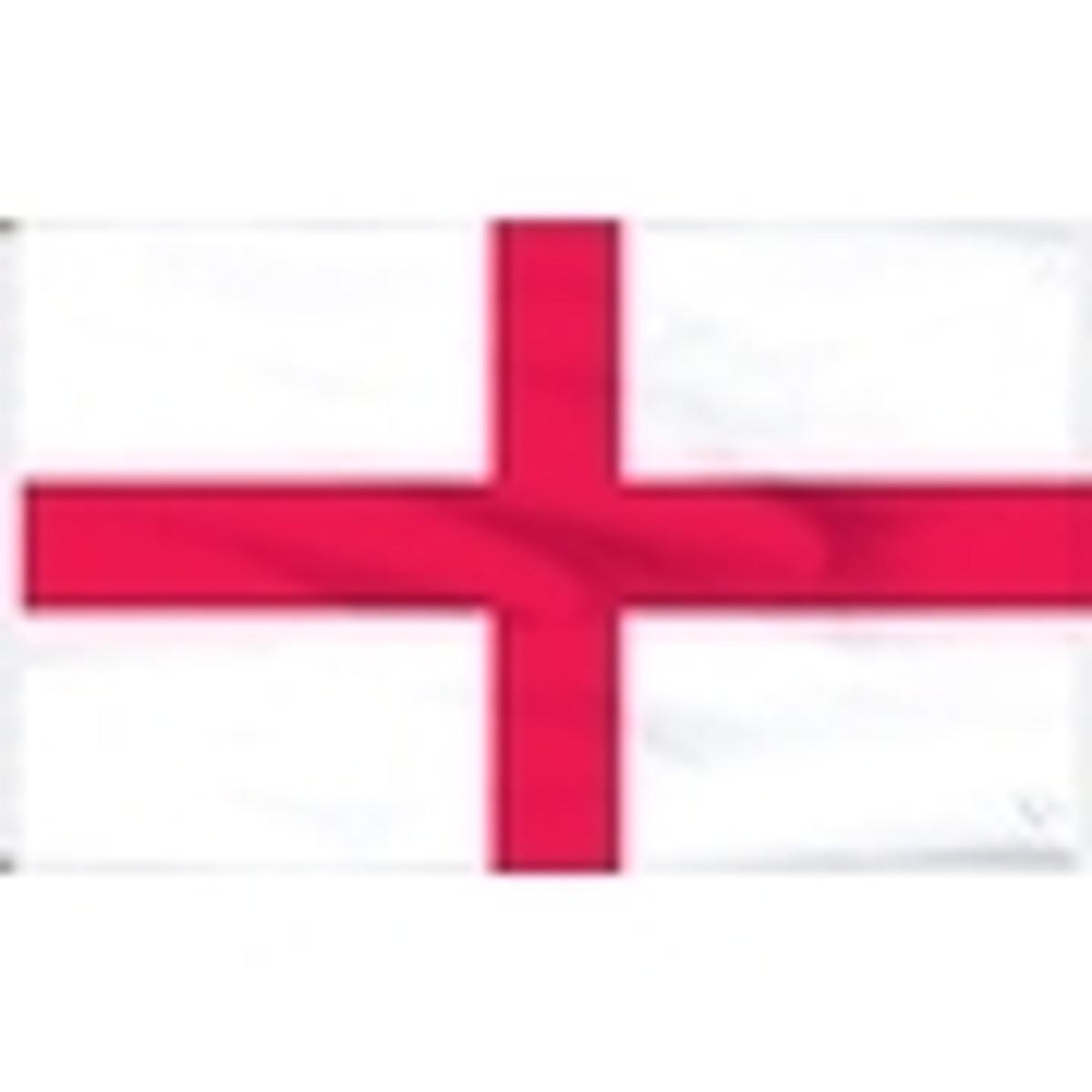 England Flag - St. George's Cross Flag