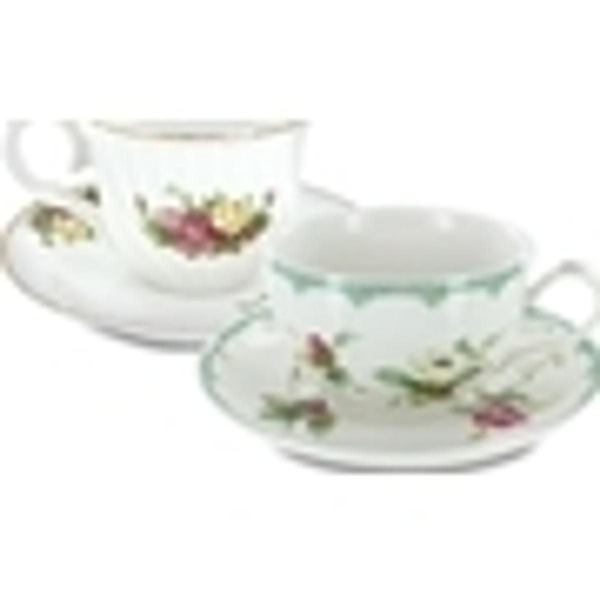 Decorated Teacups