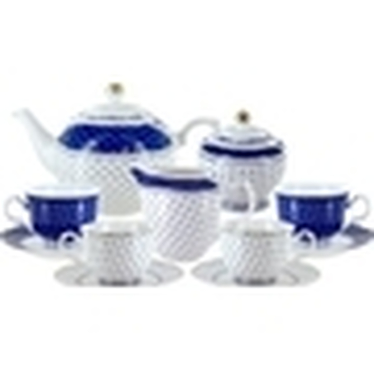 Blue Twinkle Porcelain Tea Set