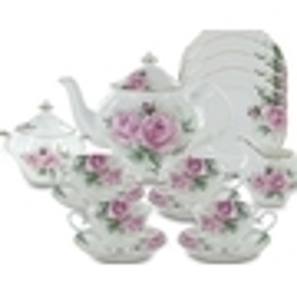 Rose Bouquet Fine Bone China by Coastline Imports