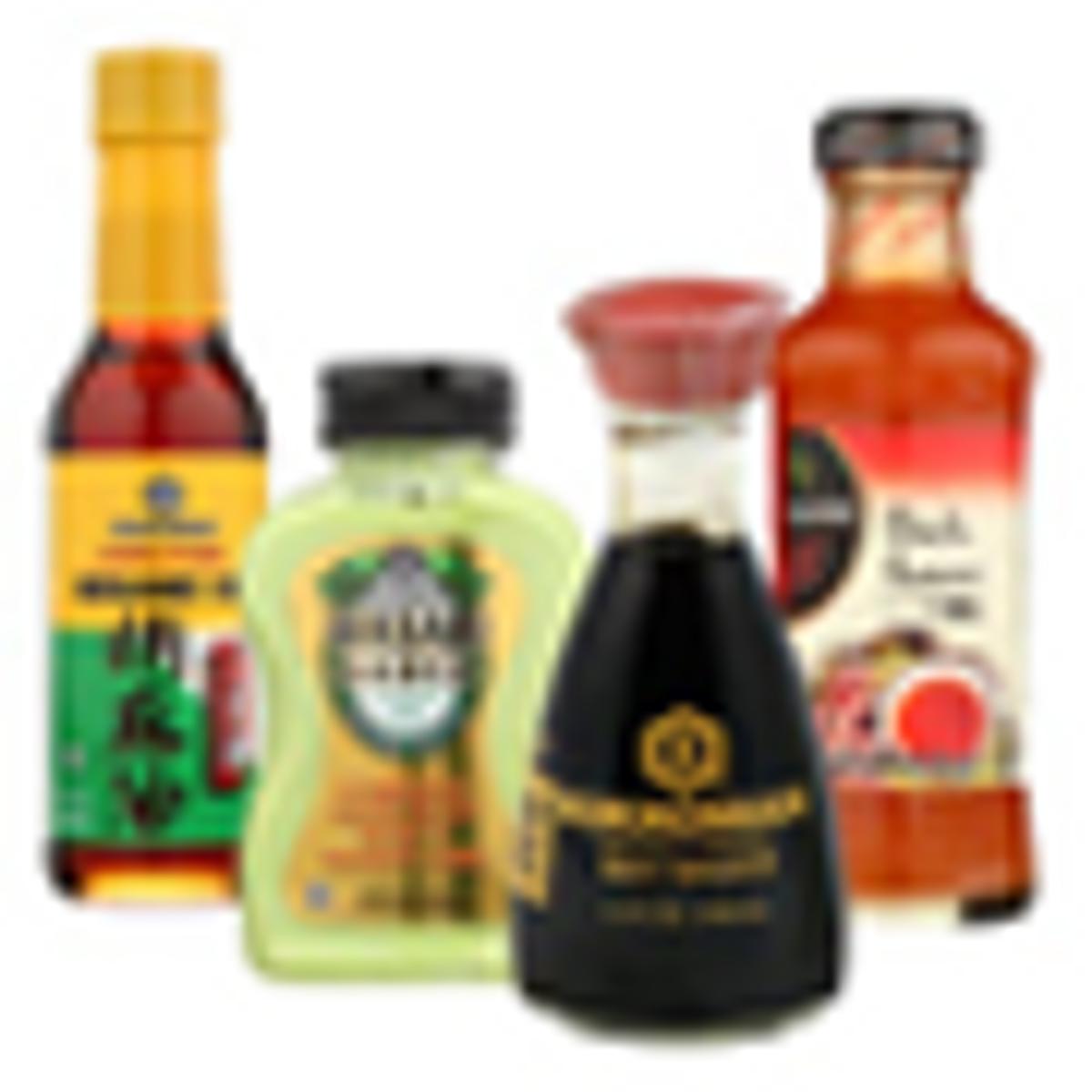 Asian Sauces & Food
