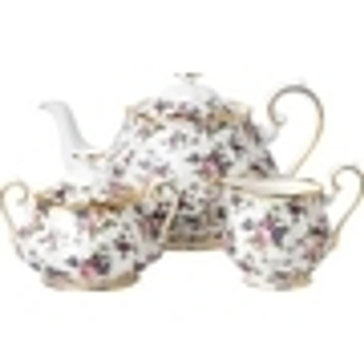 Royal Albert Fine Bone China - 3 Piece Tea Sets