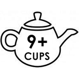 XL 9+ Cup Teapots