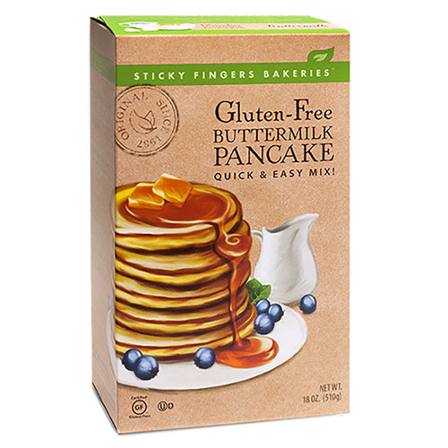 Pancake Mix - Buttermilk Gluten Free -18oz (510g)