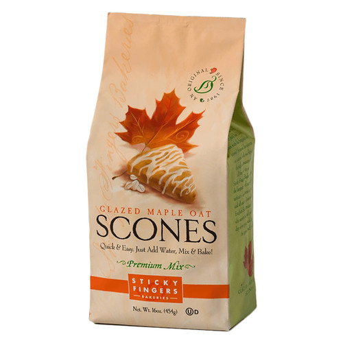 Scone Mix - Maple Oat With Maple Glaze - 16oz (454g)