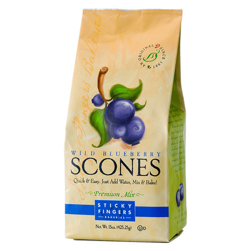 Scone Mix - Wild Blueberry - 15oz (425g)