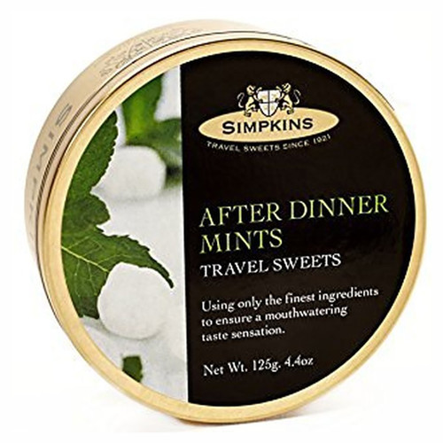 Simpkin's Travel Sweets - After Dinner Mints - 4.4oz. (125g)