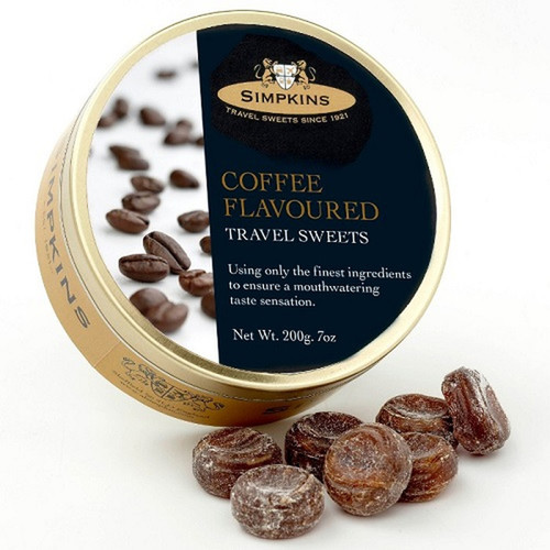 Simpkin's Travel Sweets - Coffee Flavoured - 7oz. (200g)