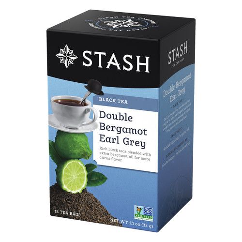 Stash Double Bergamot Earl Grey Black Tea - 18 count