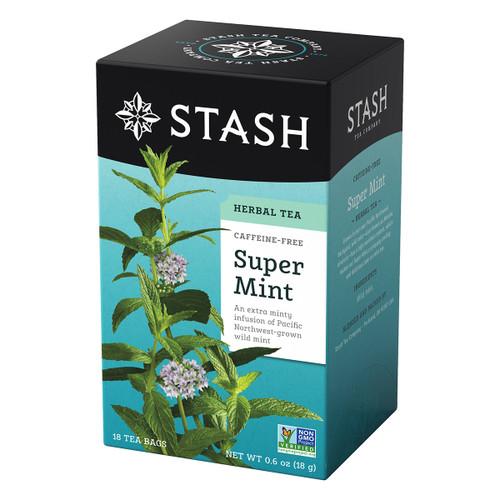 Stash Super Mint Herbal Tea - 18 count