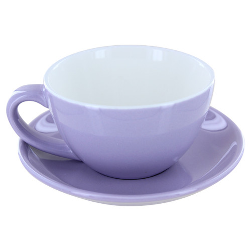 English Tea Store Porcelain Tea Cup- Lavender Gloss Finish