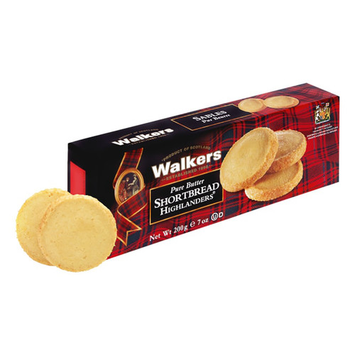 Walkers Highlanders Shortbread Cookies - 7oz (200g)