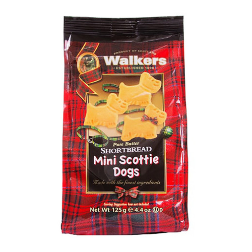 Walkers Mini Scottie Dog Shorbread Cookies - 4.4oz (125g)