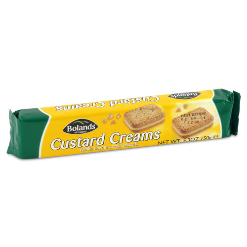 Bolands Custard Creams - 5.29oz (150g)