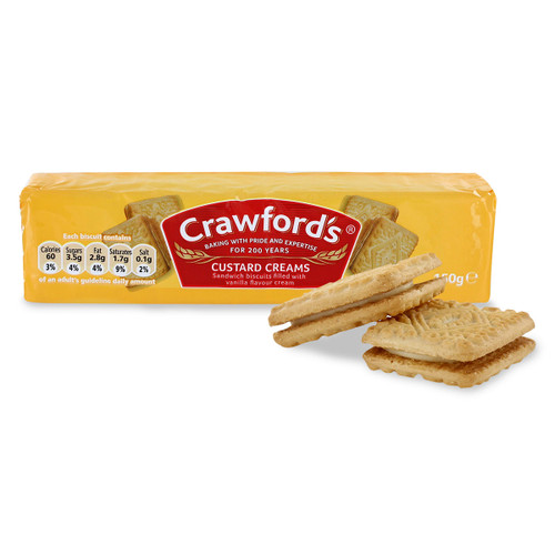 McVities/Crawford's Custard Creams - 5.29oz (150g)