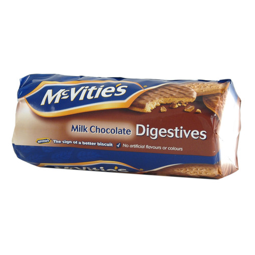 McVities Milk Chocolate Digestives - 10.5oz (266g)