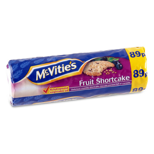 McVities Fruit Shortcake - 7.05oz (200g)