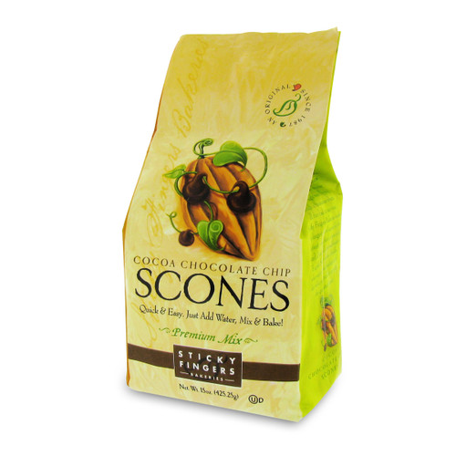Scone Mix - Cocoa Chocolate Chip - 15oz (425g)