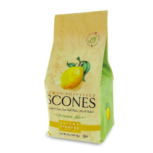Scone Mix - Lemon Poppyseed - 16oz (454g)