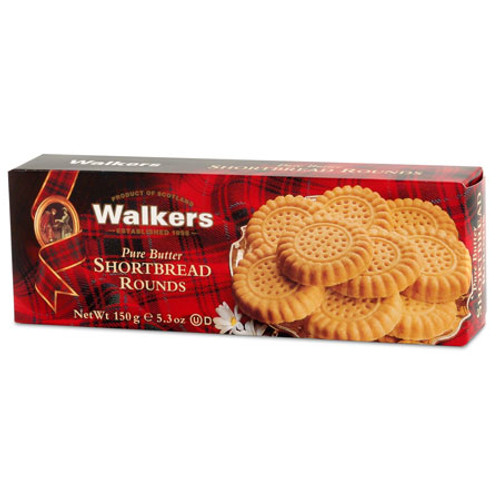 Walkers Shortbread Rounds - 5.3oz (150g)