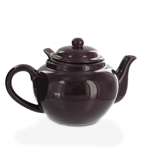 Amsterdam 2 Cup Infuser Teapot - Plum