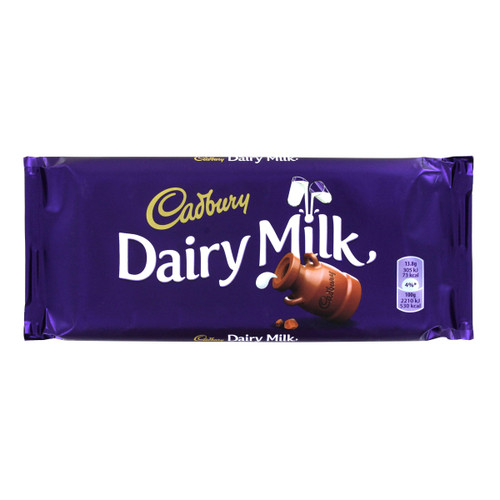 Cadbury Dairy Milk Chocolate - 3.5oz (100g)