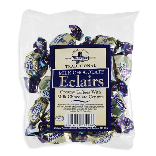 Walkers Traditional Milk Chocolate Eclairs - 5.3oz (150g)