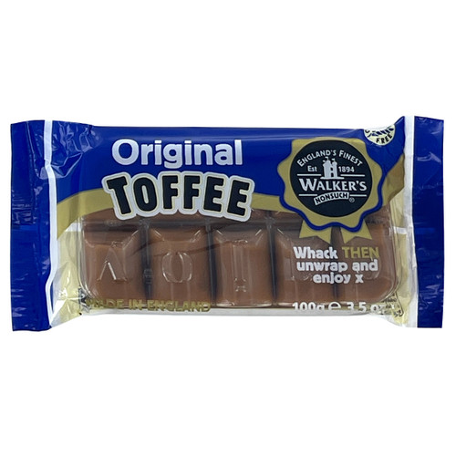 Walkers Nonsuch English Toffee - Original - 3.52oz (100g)