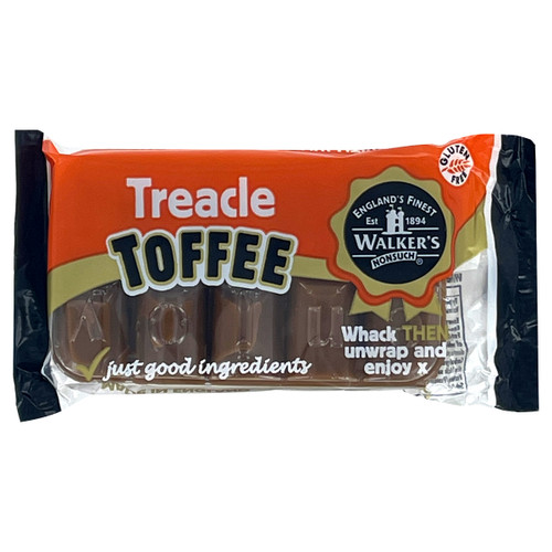 Walkers Nonsuch English Toffee - Treacle - 3.52oz (100g)