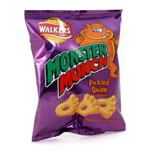 Walkers' Monster Munch Pickled Onion - 1.41oz (40g)