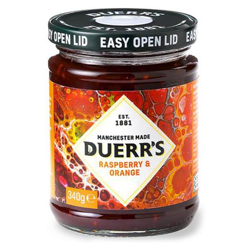 Duerr's Raspberry & Orange Conserve - 12oz (340g)