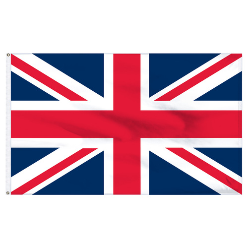"United Kingdom 12"" x 18"" Nylon Flag"