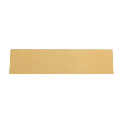 Blank Brass Engraving Plate 1.5in x 5.875in