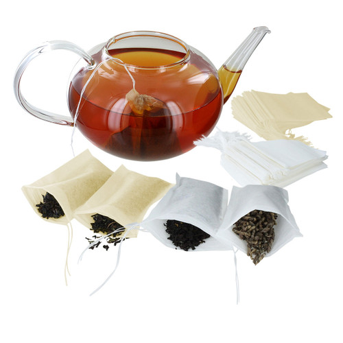 ETS Drawstring Tea Filters - Pack of 100