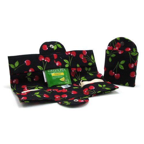 Cherries Tea Wallet