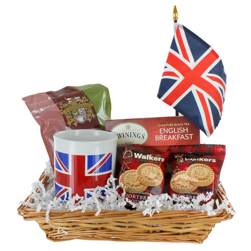 Union Jack Gift Basket