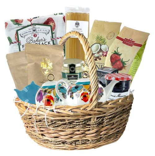 Deluxe Poppy Tea Set Gift Basket