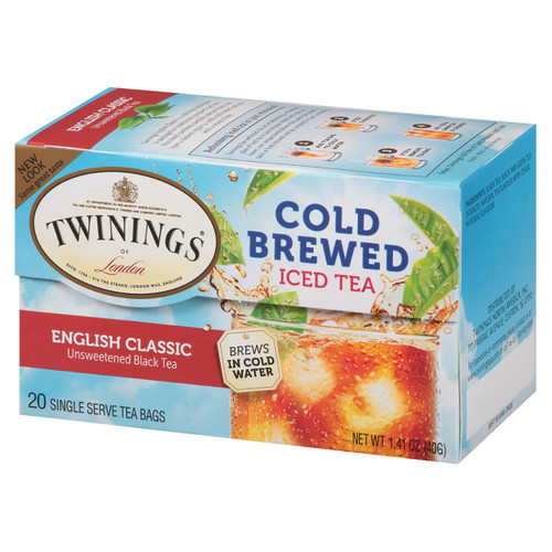 Twinings' Cold Brewed Iced Tea English Classic - 20 count